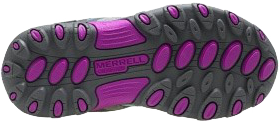 Merrel Chameleon Low Lace Waterproof outsole